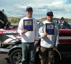 Richins and James 1st at Gunlock 15.16 lbs.s 5/18/13.